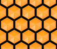 Hexagonal seamless pattern Stock Photo