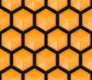 Hexagonal seamless pattern Stock Photo