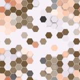 Hexagonal seamless pattern. Repeating geometric Stock Photography