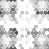 Hexagonal seamless pattern. Repeating geometric Royalty Free Stock Images