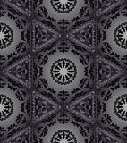 Hexagonal seamless tapestry Royalty Free Stock Images