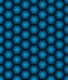 Hexagonal seamless vector pattern. Hexagonal seamless pattern. Geometric vector background in blue color Vector Illustration