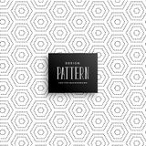 Hexagonal subtle dots pattern background. Illustration royalty free illustration
