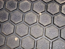 Hexagonal, surface Royalty Free Stock Photo