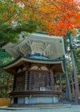 Hexagonal Sutra Repository at Danjo Garan Temple in Koyasan area in Wakayama Stock Images