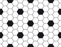 Hexagonal texture. Hexagonal monochrome texture. Perfectly shaped vector graphic which can be used as a background in print or other designs Royalty Free Stock Images
