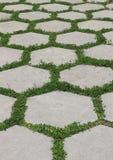Hexagonal tiles Royalty Free Stock Images
