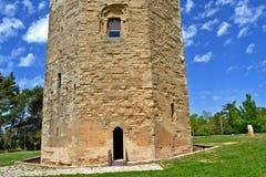 Hexagonal tower, Enna Stock Image