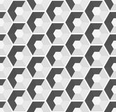 Hexagonal vector seamless background Stock Photo