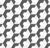 Hexagonal vector seamless background Stock Photos