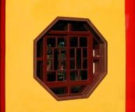 Hexagonal Window Royalty Free Stock Photos