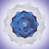 Hexagonale ster Stock Foto