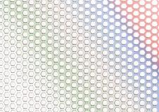 Hexagonale Vormen Royalty-vrije Stock Foto