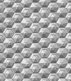 Hexagonbeschaffenheit. Nahtloses geometrisches Muster. Stockfoto