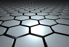 Hexagone Stockfotografie