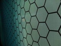 hexagone Photographie stock