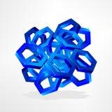 hexagone Image stock