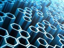 hexagone Stockbilder