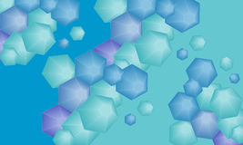 hexagone Lizenzfreie Stockfotos
