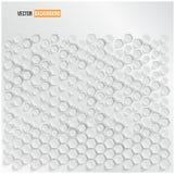 Hexagone abstrait de fond de vecteur. Web et conception Photo stock