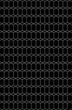 Hexagone abstrait empilé Photographie stock