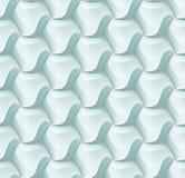 Hexagonfliesen-Ziegelsteinmuster des Vektors 3d für Dekoration und Entwurfsfliese lizenzfreie abbildung