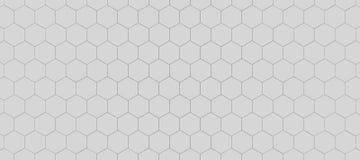 Hexagonhintergrund Stockfoto