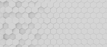 Hexagonhintergrund Stockbild