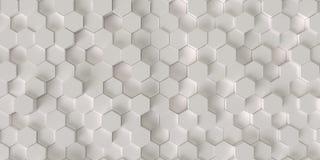 Hexagonhintergrund Lizenzfreies Stockfoto