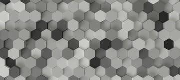 Hexagonhintergrund Stockfotos