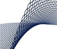 Hexagonhintergrund Stockfotografie
