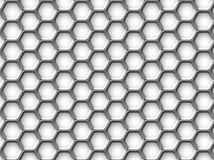 Hexagonhintergrund Stockfoto