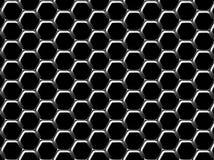 Hexagonhintergrund Lizenzfreie Stockbilder
