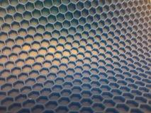 Hexagonhintergrund mit verblassen stockfotografie