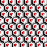 Hexagonmuster Lizenzfreies Stockbild