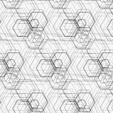 Hexagonmuster Lizenzfreie Stockbilder