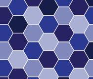 Hexagonmusterhintergrund für Ihr Design Lizenzfreie Stockbilder