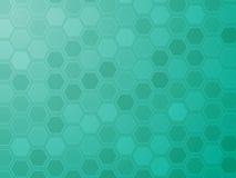 Hexagonrasterfeldtapete Lizenzfreies Stockfoto
