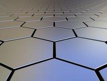 hexagons άπειρο Στοκ φωτογραφίες με δικαίωμα ελεύθερης χρήσης