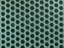 hexagons ανασκόπησης μέταλλο μι&kapp Στοκ εικόνα με δικαίωμα ελεύθερης χρήσης