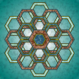 Hexagons Stock Photo