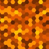 Hexagons Abstract Background. Geometric Seamless Pattern. Vector Royalty Free Stock Photos