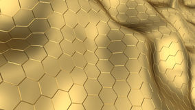 Hexagons background Royalty Free Stock Photo