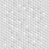 Hexagons. Background of light, gray honeycombs. Transition of shades. Creation 3d effect and volume. Wallpapers for web sites Stock Images