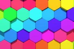 Hexagons Stock Images