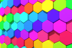 Hexagons Royalty Free Stock Images