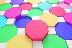 Hexagons Royalty Free Stock Image