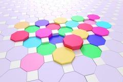 Hexagons Stock Photography