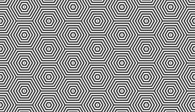 Free Hexagons Geometric Vector Seamless Pattern Stock Photos - 160623983