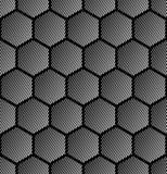 Hexagons pattern. Seamless geometric texture. Stock Photos